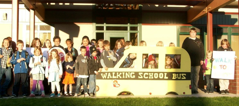 Washington Elementary's Walking School Bus (2009)